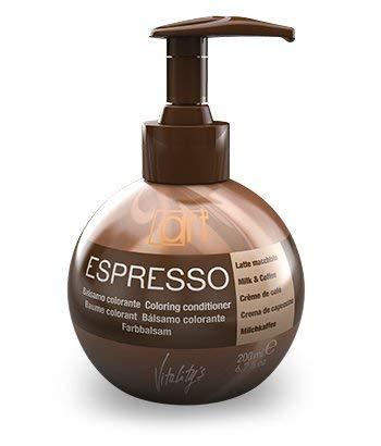 Vitality`s Espresso Keratin Hair Coloring Conditioner Milk&coffe 6.7 Oz