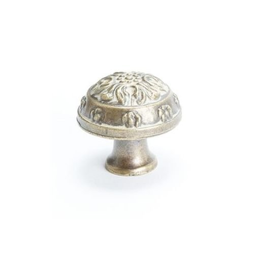 Berenson Latte Glaze Baroque Mushroom Cabinet Knob, 1-1/4