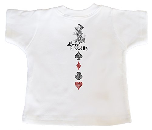 T À 0 Courtes shirt Blanc 24 Alice Manches Mois Bébé garçon dgRT0qnW