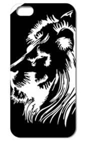 Fashion The Lion Pattern Protective Hard Case Cover For iPhone 5 5S #062