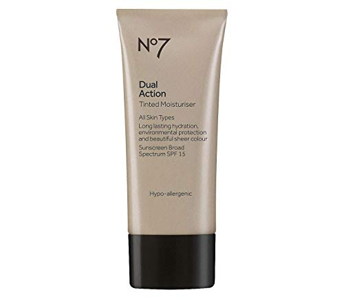 Boots No7 Dual Action Tinted Moisturiser Fair 1.6 ounce (SPF15)