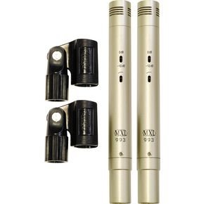 MXL 993 Condenser Microphones Stereo Pair/マイク/マイクロフォン/Microphone【並行輸入品】 B00E6R5YGS