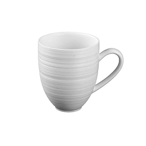 J.L. Coquet Hemisphere Matte White Mug