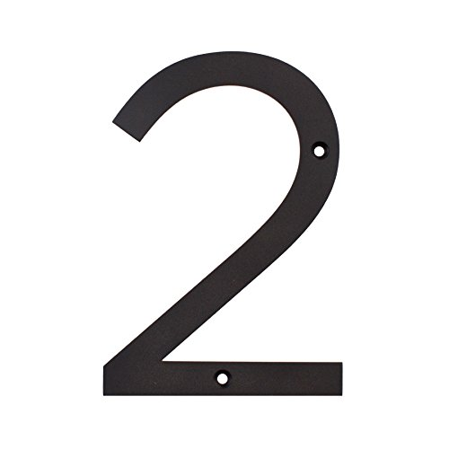 maykke-hugo-stainless-steel-house-number-2-matte-black-oya1100201