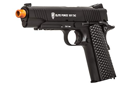 Elite Force 1911 Gen 3 Tactical CO2 Blowback Airsoft Pistol (Black) (Umarex Elite Force 1911 Tac Gen3 Airsoft Pistol)