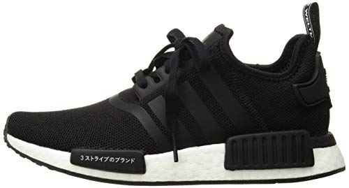 adidas Originals Unisex NMD_R1 Running Shoe, Black/Orchid Tint, 3.5 M US Big Kid by adidas Originals (Image #5)