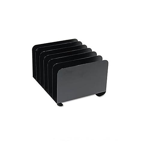 MMF Industries Steel 6-Compartment Vertical Organizers (2646BLA)