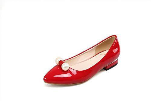 Sandali Rosso 1TO9 Donna Zeppa con Sconosciuto MMS06176 35 Red HACqC