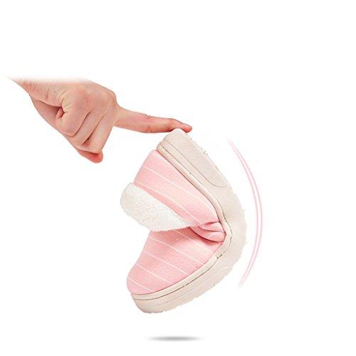 Scarpe Confortevole Inverno Traspirante E In Caldo Invernali Rosa Cotone Pantofole Morbido Antiscivolo Dww R6v4p4
