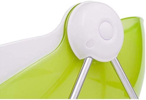 フルーツボウル 現代ABSフルーツボウルバスケットストレージ29x26x16.5cm、リビングルームセンターピーススナック洋菓子ナッツキャンディープレートはパーティー宴会や結婚式のためのトレイスタンド表示し、蓋付きのラック (Color : Green)