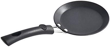 N / A PoêLe à Omelette Casseroles à Induction,Mini Plat à Omelette de Petit déjeuner en Fer Fin, Plat antiadhésif à Fond Plat de bifteck de Veau avec cuisinière à gaz général