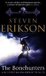 Malazan Book of the Fallen, tome 6 : The Bonehunters (VO) par Steven Erikson