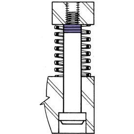 - 5mm I.D. x 6mm O.D. x 0.25mm Shoulder Screw Lengthening Shim (Pack of 25) - Made In USA, (Pack of 5)(26502)