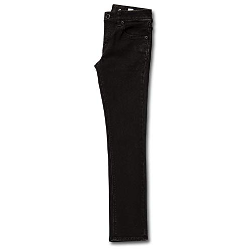 Volcom Big Boys 2x4 Denim Pants, Blackout, 26