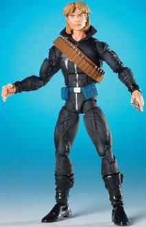 Marvel Legends Longshot Figure - Toy Biz Mojo Build A Figure Series