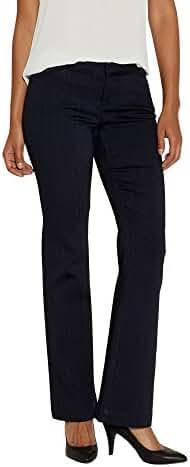 Maurices Women's Denim Wide Leg Pant In Dark Wash