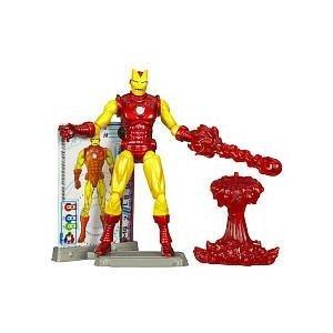 Hasbro Iron Man 2 Comic Series Classic Iron Man Action Figure #28