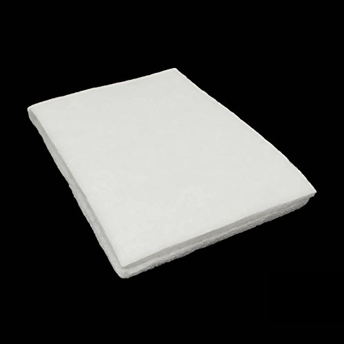 Aquarium Fish Tank Filter Sponge Woopower Cotton Sponge Filter For Fish Tank,Water Filter 90x30x2cm (White)