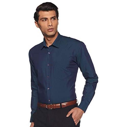 31ELFhNxkZL. SS500  - Amazon Brand - Symbol Men's Regular Fit Cotton Formal Shirt