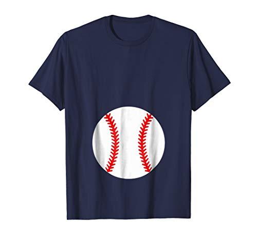 Pregnancy Halloween Costume Shirt - Baseball