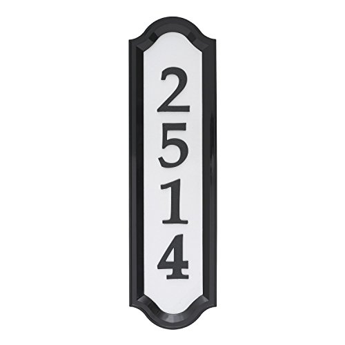 (Whitehall Products Nite Bright Reflective Address Sign, 16