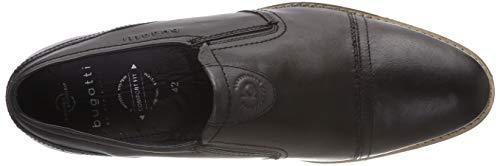 113e 1000 11 Para Hombre Mocasines 3 schwarz Negro Bugatti qAgPHH