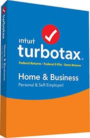 Turbotax Home and Business Tax Software 2018 Personal and Self Employed, 5 Fed Electonic file + State Print [D0WNL0AD 0NLY] by lntuit