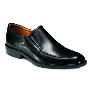 ECCO  Men's Windsor Apron Slip-On Black Brazilian Calf Skin Leather ()