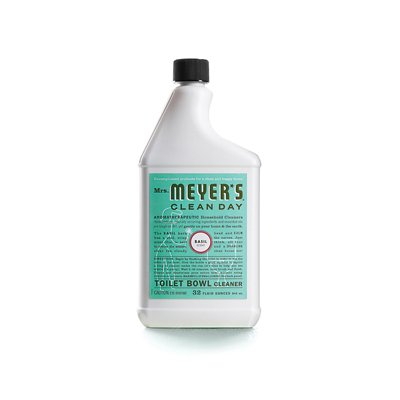 Mrs. Meyers Clean Day Toilet Bowl Cleaner, Basil, 32 oz, 2 pack