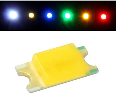 50x Superhelle Leds Smd 0402 Warm Weiß 3000k 20ma 2 9v 70 90mcd 120 1x0 5mm Beleuchtung
