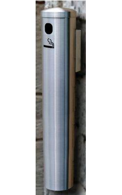 Glaro Wall Mount Smoker's Post in Black, 3-1/2