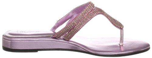 Unze Evening Sandals, Damen Sandalen Pink (L18393W)