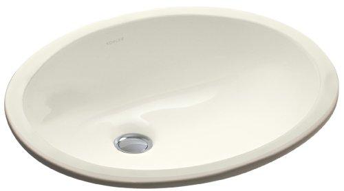 KOHLER K-2209-96 Caxton Undercounter Bathroom Sink, Biscuit (Caxton Kohler Biscuit)