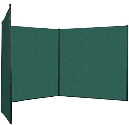 Tidyard Valla Cortavientos Balcón Privacidad HDPE Verde 150x600 cm: Amazon.es: Hogar