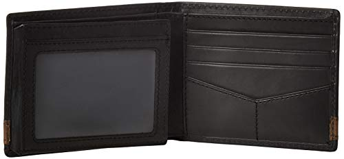 Fossil Men's Quinn Leather Bifold Flip ID Wallet 5