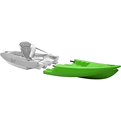 015301230108 Point 65 Tequila! GTX Modular Kayak Front Section - Lime by Point 65
