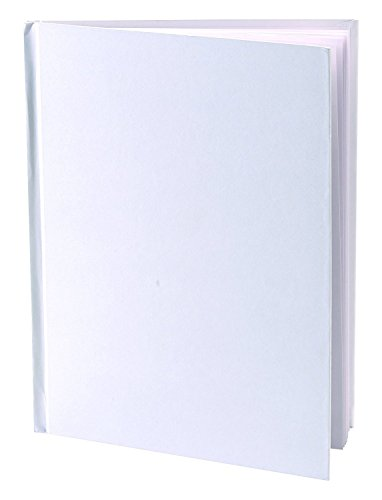 Blank Books (Pack of 6) - 6'' x 8'' Hardcover with White Pages - 32 Pages (16 sheets) per book by Blank Books