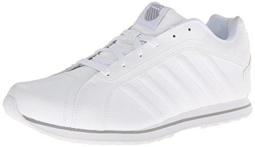 K-Swiss Men's Verstad III S Fashion Sneaker,White/Storm,7.5 M US