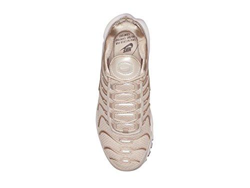 Nike Air Max Donne Di Nylon Plus Scarpe Da Corsa Del Deserto Di Sabbia / Deserto Di Sabbia / Deserto Di Sabbia / Nero