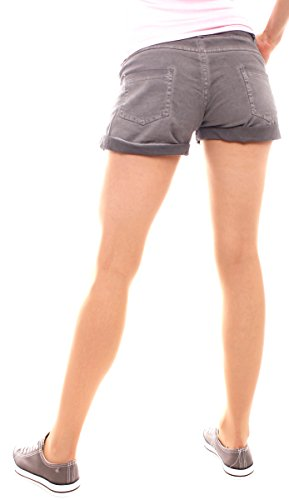 Young Grigio Pantaloncini Fashion Scuro Donna Easy pSxIqwdCq