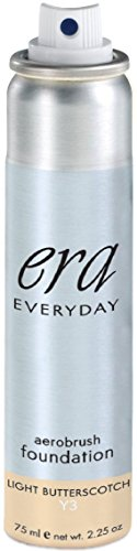 ERA Everyday Aerobrush Foundation Makeup, Y3 Light Butterscotch, 2.25 ()
