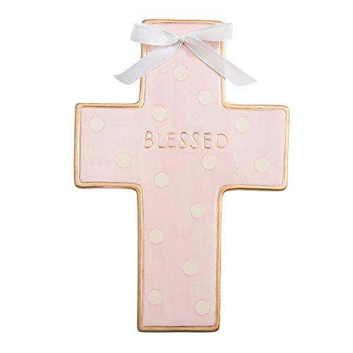 Cross Wall, Pink (Baby Dot Ceramic)