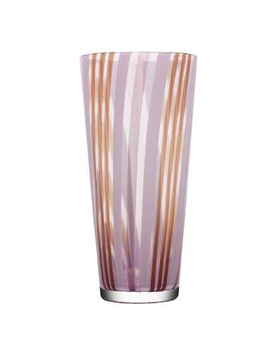 Kosta Boda Cabana Vase, Lilac/Orange/Green