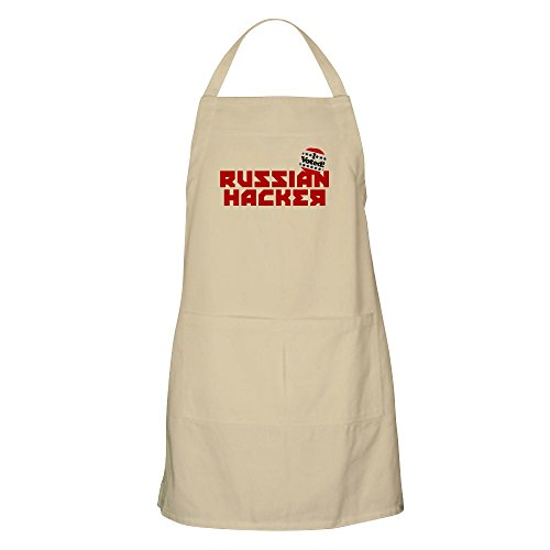 CafePress Russian Hacker Kitchen Apron with Pockets, Grilling Apron, Baking Apron]()
