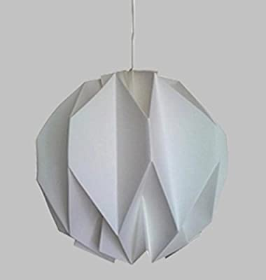 DMMSS Pure Hand-Origami Chandelier Classic Nordic Lighting Creative Study Lighting