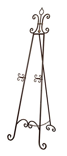 Deco 79 Metal Easel for Classic Display, 66-Inch