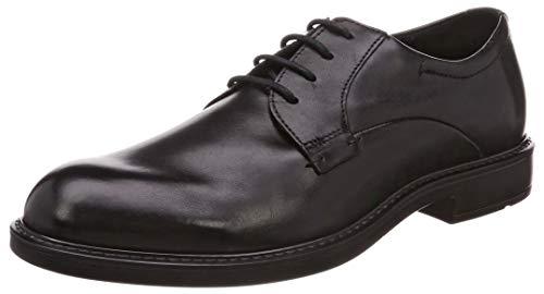 ECCO Men's Vitrus III Plain Toe Tie Oxford, Black, 43 M EU (9-9.5 US)