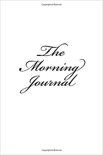 The Morning Journal: (A lined journal for creating mini miracles)