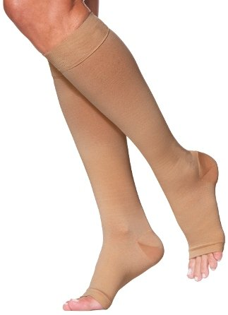 1168c4a0a1c Image Unavailable. Image not available for. Color  Sigvaris 973C Access 30-40  mmHg Open Toe ...