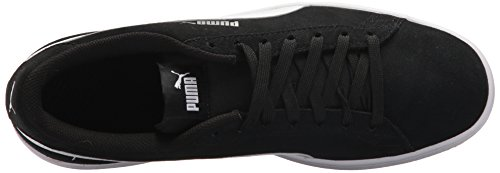 Puma Uomo Smash V2 Sneaker Puma Nero-puma Bianco-puma Argento